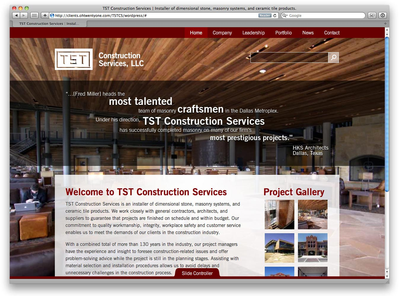 TSTCS Logo and Website. Logo Design, Website Design, Art Direction, Wordpress Developement, XHTML, CSS, jQuery